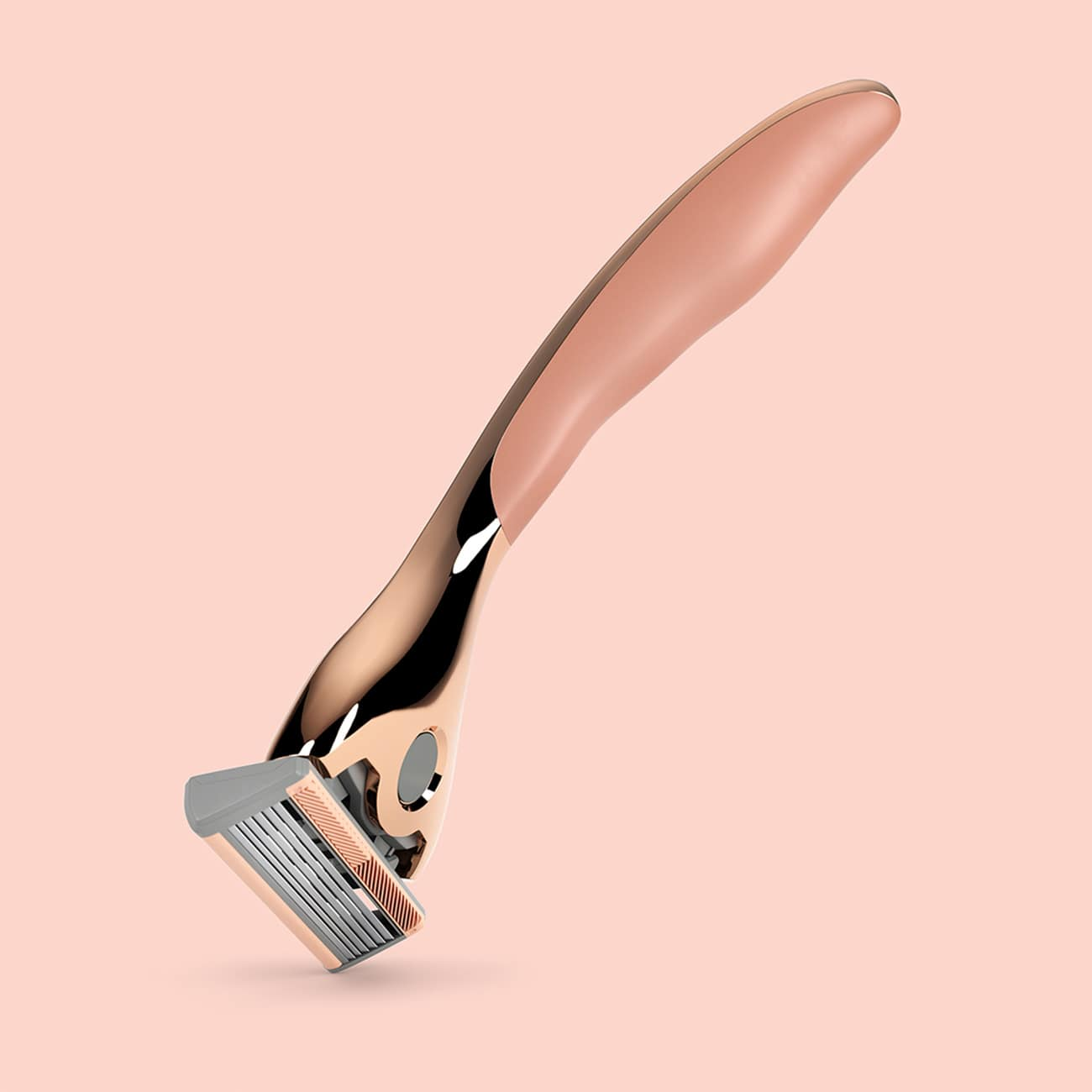 Realistic 3D product visuals for Friction Free Shaving razors