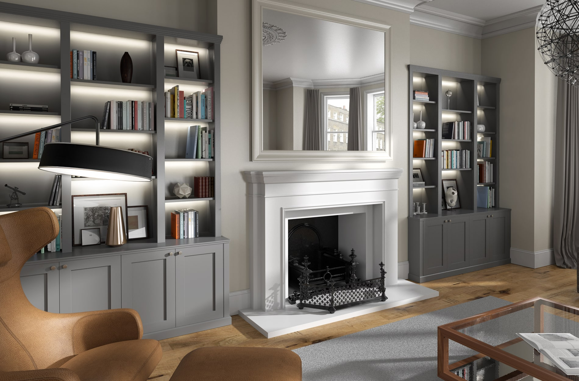 Photo realistic interior 3D visualisation for West Bridgford Joinery